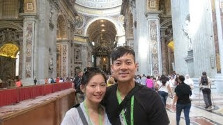Our Honeymoon In The Vatican City ♥