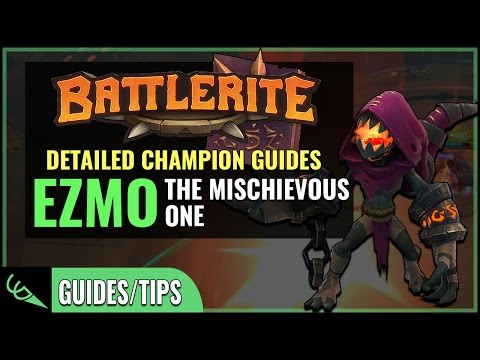 Ezmo Guide - Detailed Champion Guides | Battlerite (Early Access)