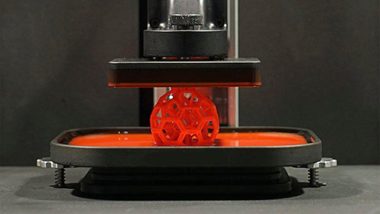 ИННОВАЦИИ В 3D-ПЕЧАТИ | Новый фотополимерный 3D принтер