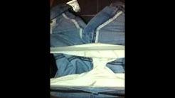 My amateur bisex Bf in white panties