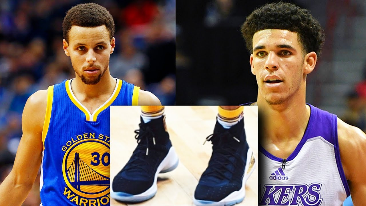 Stephen Curry Sent Lonzo Ball His Shoes To Wear During Summer League Game
