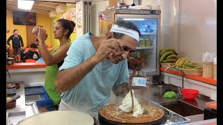 Julio, The King Of Crepes, Alcudia, Mallorca