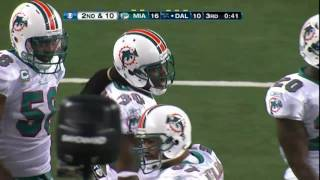 Tony Romo leads brilliant drive vs Miami Turkey day '11