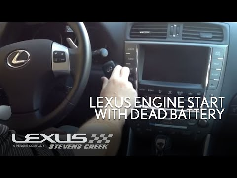 Lexus Engine Start With Dead Key Battery