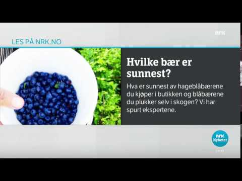 News Question to Viewers - Norway (NRK1/NRK)