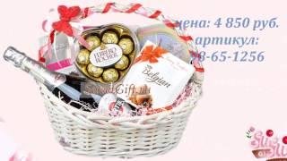 Подарочные корзины для женщин 20 видов, от sweetgift.ru