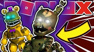 How To Get Withered Fredbear, William Afton Roblox Five Nights At Freddy's Sister Location Roleplay