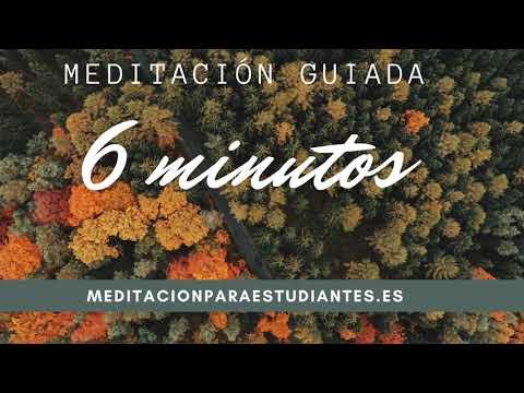 Meditación guiada de 6 minutos para estudiar. | Estudiantes SIN experiencia mediando. Fácil