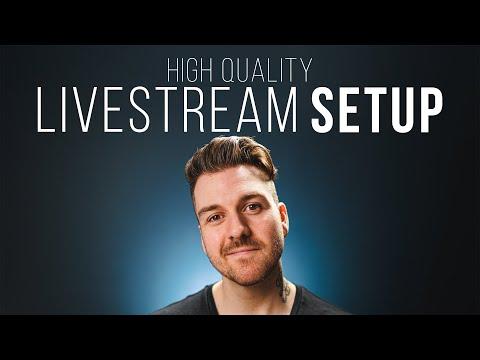 My HIGH QUALITY Live Stream Setup!! [2020]