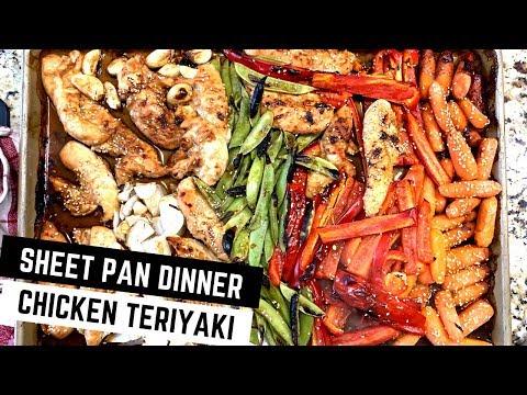 Sheet Pan Teriyaki Chicken and Vegetables