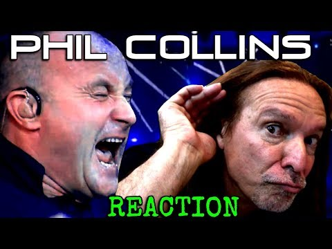 Vocal Coach Reacts To Phil Collins - In The Air Tonight - Live - Ken Tamplin