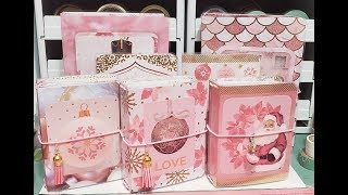 Sugar blush travelers notebook collection B6 & micro  notepad holders *4 left*