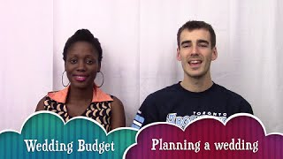 The Big Wedding Budget (part 1) ~ Planning A Wedding | Moments Of Love
