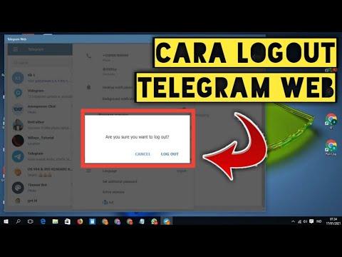 Cara Masuk Dan Keluar Di Telegram Web | Login Telegram Dan Logout Telegram