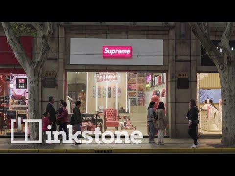 """Legal Fake"" Supreme And Balenciaga Dad Shoe Hats: Inside China's Streetwear Scene"