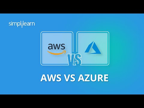 AWS vs Azure | AWS vs Azure Comparison | Difference Between AWS And Azure | Simplilearn