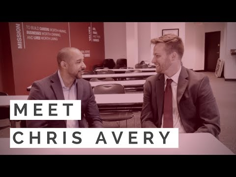 chris gets interviewed by david