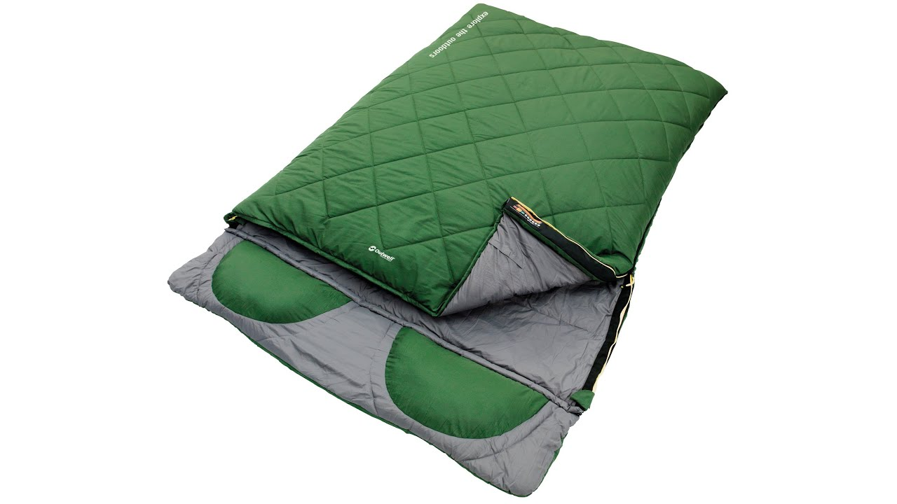 Fundango Saco de Dormir Extragrande y port/átil para Camping con Clima fr/ío Senderismo mochilero con Bolsa de compresi/ón