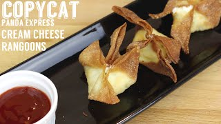 Copy Cat Panda Express Cream Cheese Rangoons