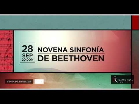 Novena Sinfonía de Beethoven.- Concierto de Aranjuez