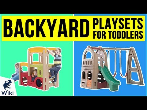 10 Best Backyard Playsets For Toddlers 2020