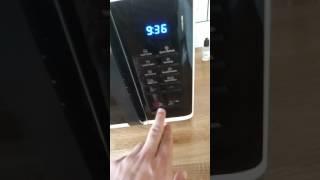 AO.COM review, Samsung microwave oven ms23k3513
