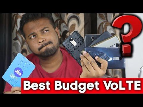 Best Budget 4G VoLTE Smartphone   India 2016