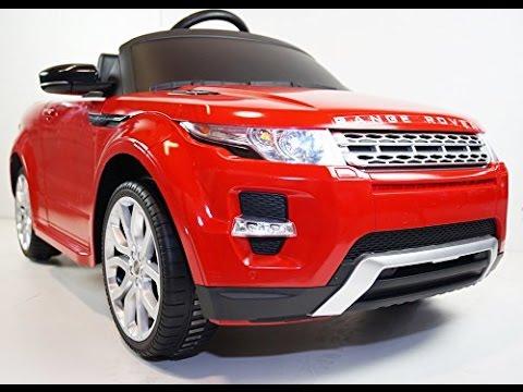 range rover evoque voiture pour les enfants range rover evoque voiture jouet enfourcher youtube. Black Bedroom Furniture Sets. Home Design Ideas