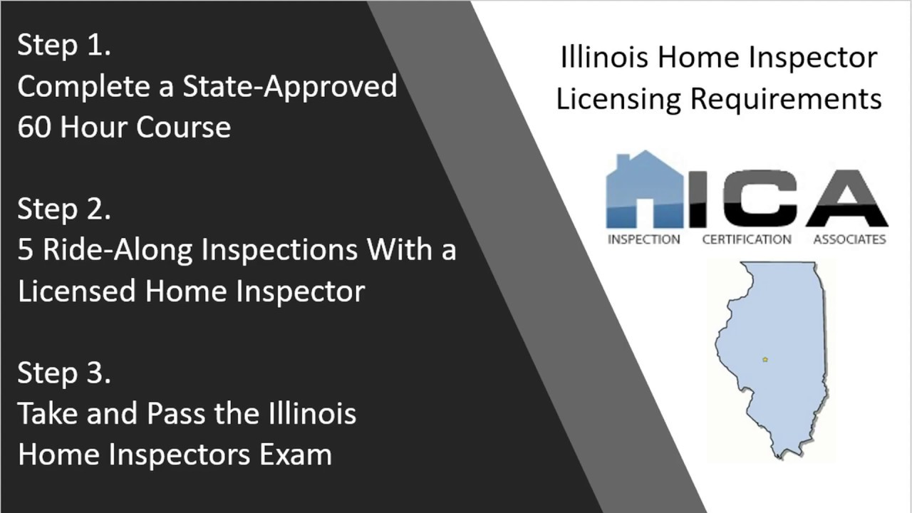 Illinois Home Inspection Licensing Requirements Home Inspection Certification Associates