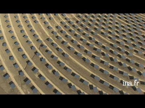Espagne : miroirs de la centrale solaire de Sanlucar La Mayor
