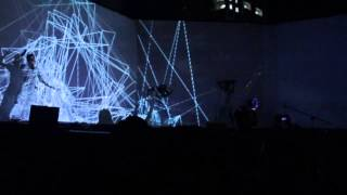 Projection mapping - Yosi Horikawa performance music and modern ballet dance