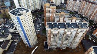 Начало заселения двух домов в микрорайоне на Хорошевском шоссе