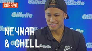 PREPARATION, WORLD CUP & FUNKY HOUSE | NEYMAR & CHILL