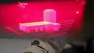 Tiny Pistons to Drive Holographic Displays