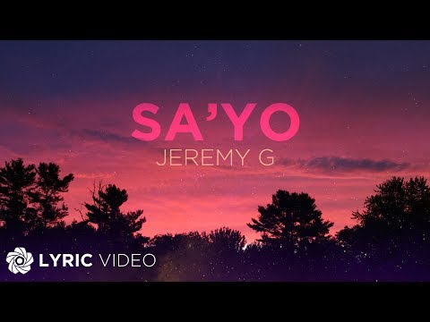 Sa'yo - Jeremy G X KIKX (Lyrics)