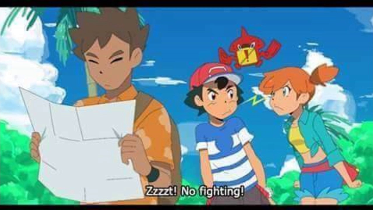 BROCK Y MISTY EN ALOLA!? - Pokémon Sol & Luna (Anime) - YouTube