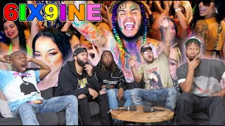 6IX9INE - ZAZA (Official Music Video) Reaction / Review