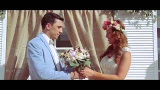 Свадебный ролик Юли и Андрея. Happy wedding in Kiev, Ukraine.