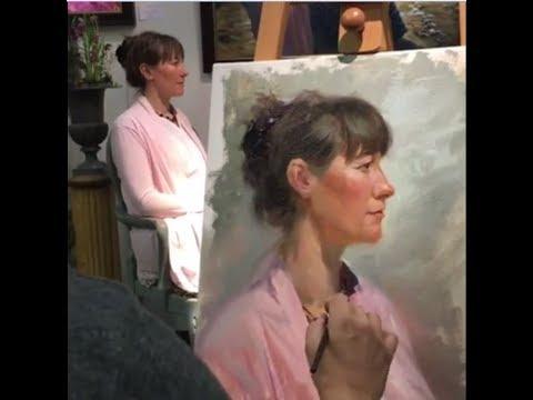 Vladimir Volegov Live Portrait Painting 2