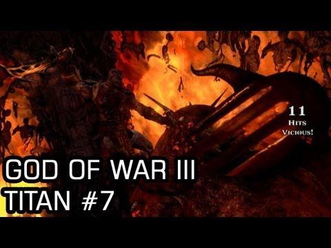 God of War III (Titan,PS3) #7 Hades, Hades' Throne Room, The Forge
