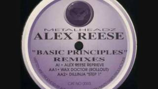 Alex Reese - Basic Principles (Wax Doctor Rollout)