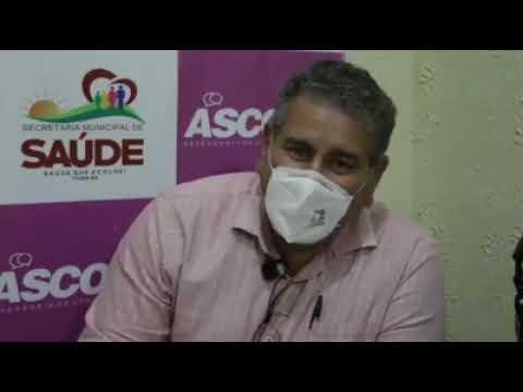 ITIÚBA: PREFEITA E SECRETÁRIO FALAM SOBRE CASOS DE COVID-19 EM RÔMULO CAMPOS