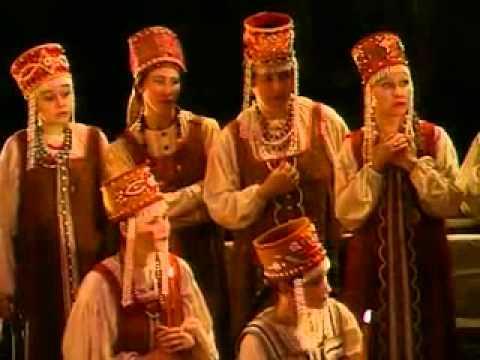 Хор «Славься» из оперы «Иван Сусанин». М.И. Глинка