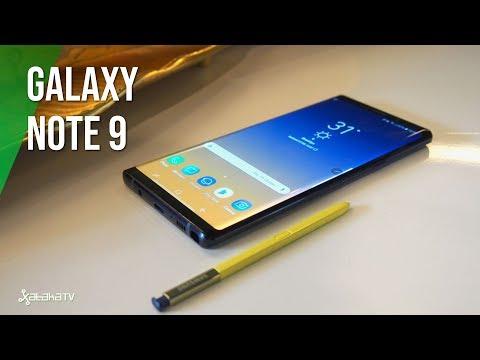Samsung Galaxy Note 9, primeras impresiones: la BESTIA viene fuerte con el gaming