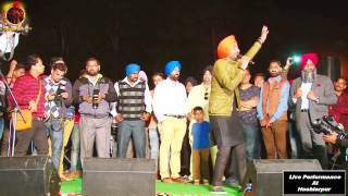 RANJIT BAWA | YAARI CHANDIGARH WALIYE | LIVE PERFORMANCE AT HOSHIARPUR 2015 | OFFICIAL FULL VIDEO HD