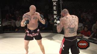 10th Legion 3 - Dieter Huggins v Keith Rouse MMA Fight BRUTAL