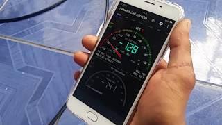 Antena Yagi Grid Penguat sinyal 3G 4G tes induksi hp oppo
