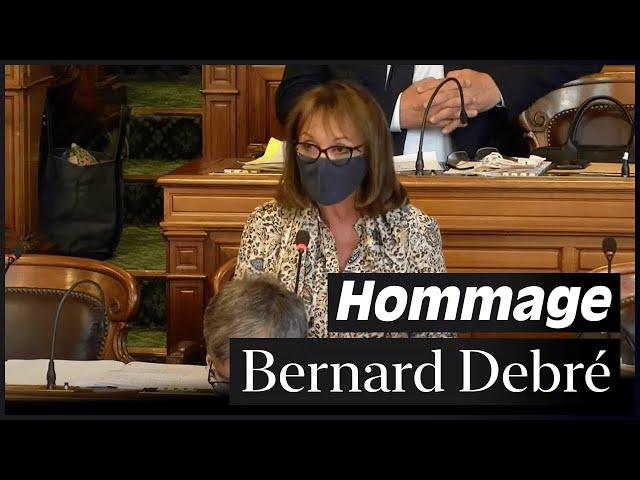 Vidéo - Hommage à Bernard Debré au Conseil de Paris