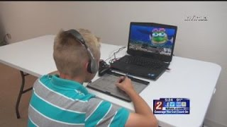 8 12 - 5pm - Live Animation Avatar Used to Help Kids With Autism