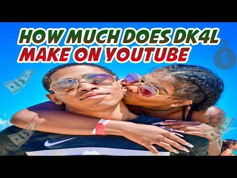 How much does DK4L make on Youtube